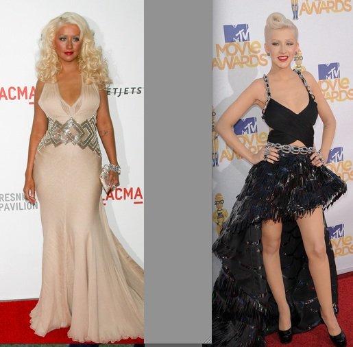 Christina Aguilera's New Fuller Figure -- 3 Months After the MTV Movie Awards