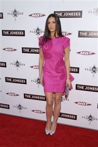 Demi Moore is wrinkle-free thanks to laughter!