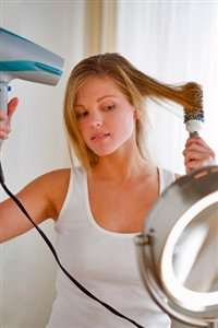 Blow drying again? Try this