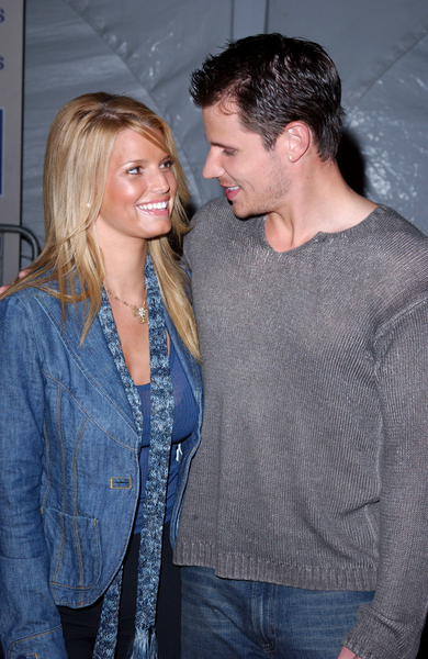 Jessica Simpson and Nick Lachey at an Event in 2003 - How Times Have Changed