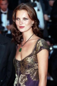 Kate Moss - in more glamorous days, perhaps?
