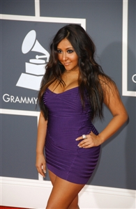 Snooki is known for her heavy makeup and outrageous personality.