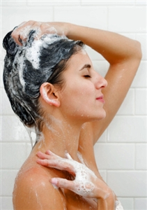 Using medicated shampoos such as Head and Shoulders may help