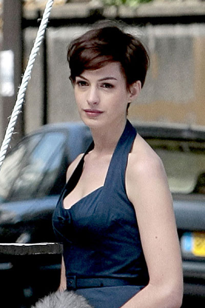 "The ""Devil Wears Prada"" star has done it again (cuting off her hair),"