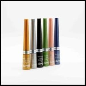 Eyeliner in rainbow colors is perhaps the next big makeup trend