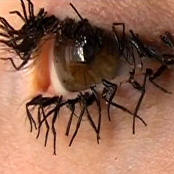 The Most Disgusting False Eyelashes EVER - One Makeup Artist s    Ugly Clumpy Eyelashes