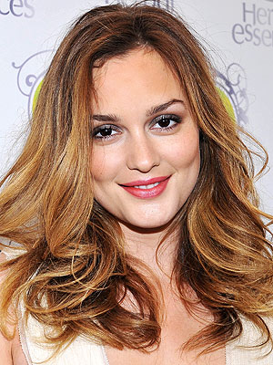 Leighton Meester Is Just Not That Into Perfect Hair Care