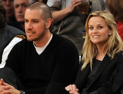 Reese Witherspoon and Jim Toth (seen here at a Los Angeles Lakers game) will wed this weekend