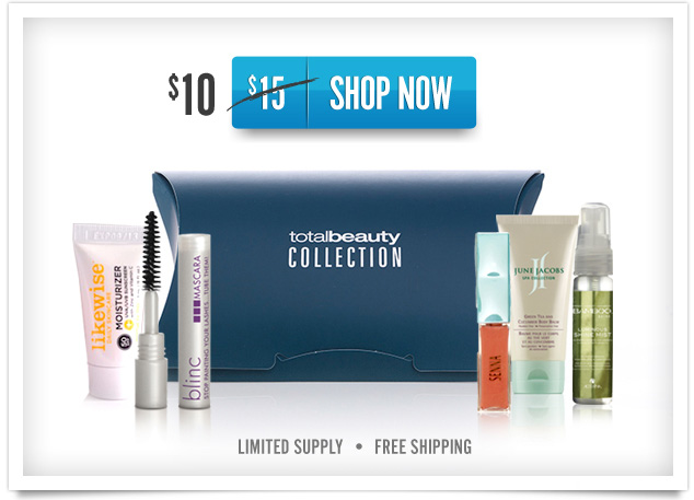 Shop Now: save 30% on Total Beauty Collection
