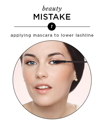 Mascara on Your Lower Lashes