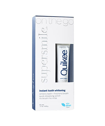 Worst Teeth Whitening Product No. 1: Supersmile Quikee Instant Whitening Polish, $18