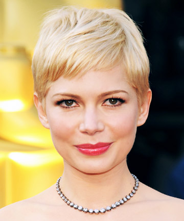 Michelle Williams' Red Carpet-Worthy Pixie Cut