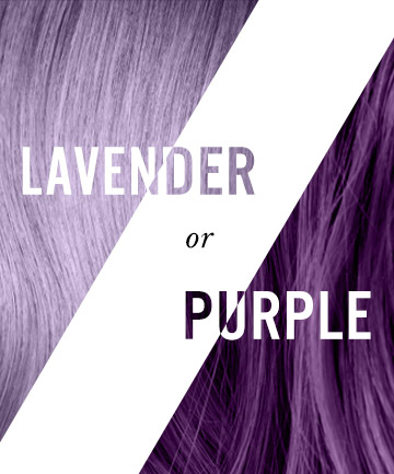 Colorful Hair: Lavender or Purple