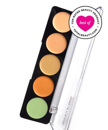 Best Concealer No. 7: Make Up For Ever 5 Camouflage Cream Palette, $40