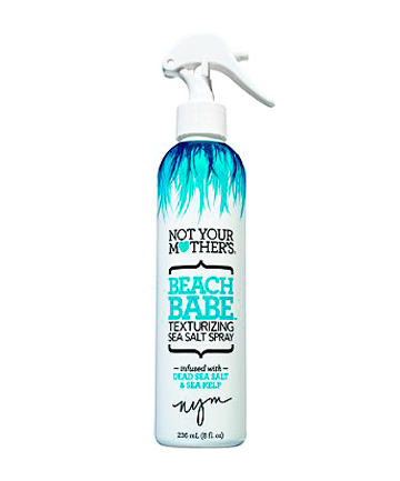 Worst Summer Hair Care Product No. 2: Not Your Mother's Beach Babe Texturizing Sea Salt Spray, $5.99