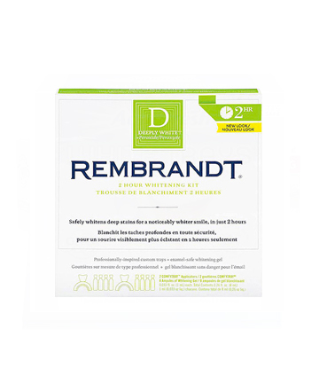 Worst Teeth Whitening Product No. 2: Rembrandt Deeply White 2 Hour Whitening Kit, $22.99