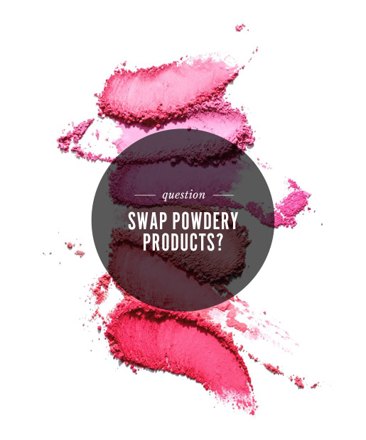 Would You Swap ... Powdery Products?