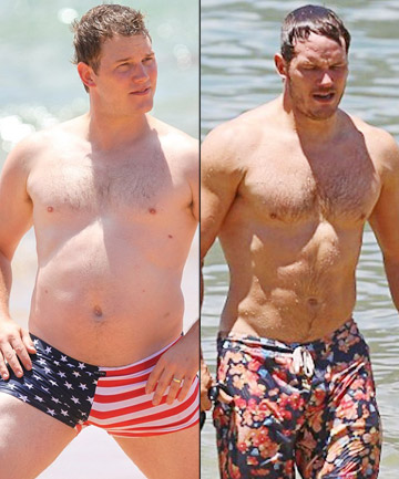 Chris Pratt 22 Shocking Celebrity Weight Loss