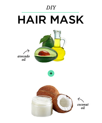 Diy Hair Mask Coconut Oil Avocado Oil 7 Diy Beauty