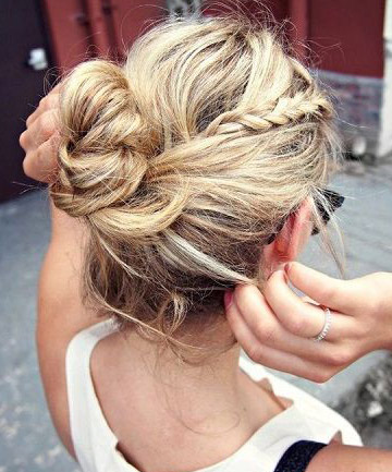 ... To Celebrity Hairstylist Chaz Dean, Messy Hairstyles With A Braid  Thrown In Are Some Of The Easiest And Most Stylish Hairstyles For Greasy  Hair.