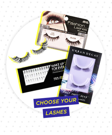 Choose Your False Lashes