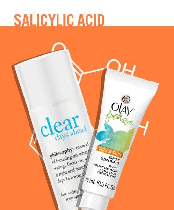 Acne Treatment No. 2: Salicylic Acid