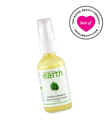 Best Green Product No. 1: Made From Earth Vitamin Enhanced Face Firming Serum, $44.99