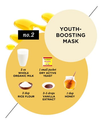 Homemade Face Mask No 14 Youth Boosting Milk 15