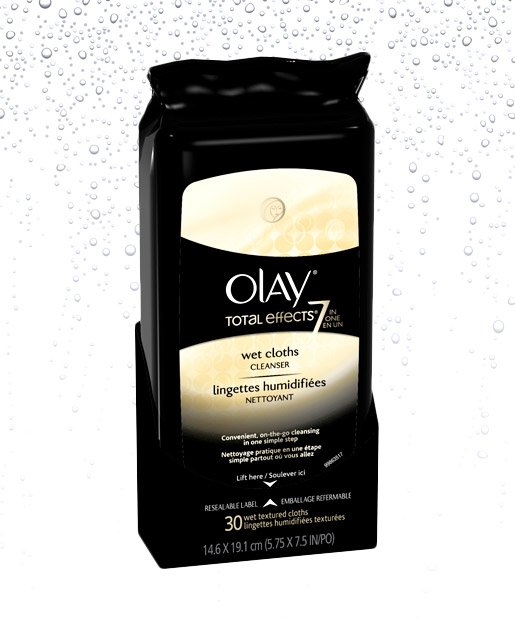 No. 5: Olay Total Effects Wet Cleansing Cloths, $5.99