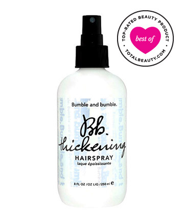 No. 9: Bumble and Bumble Thickening Hairspray, $28