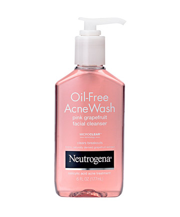The Worst: No. 3: Neutrogena Oil-Free Acne Wash Pink Grapefruit Facial Cleanser, $7.49