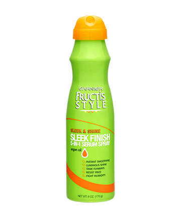 Worst Summer Hair Care Product No. 1: Garnier Fructis Style Sleek & Shine Sleek Finish 5-in-1 Serum Spray
