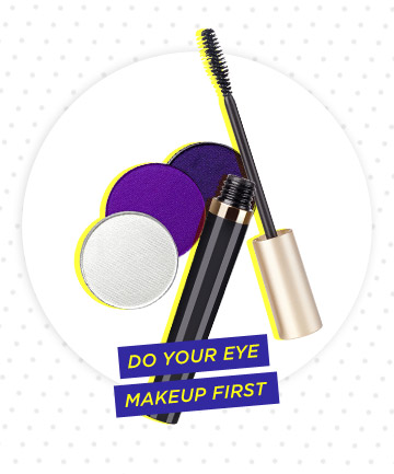Do Your Eye Makeup First