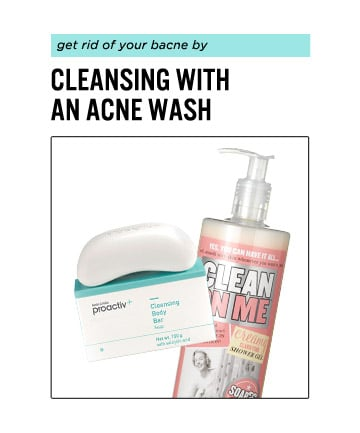Use a Body Acne Wash