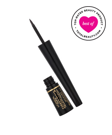 liquid eyeliner brush. best drugstore eyeliner no. 14: l. liquid brush b