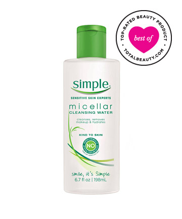 Best Makeup Remover No. 17: Simple Micellar Cleansing Water, $7.99