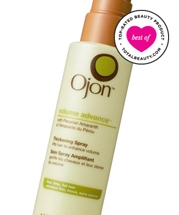 Best Volumizing Product No. 8: Ojon Volume Advance Thickening Spray, $25