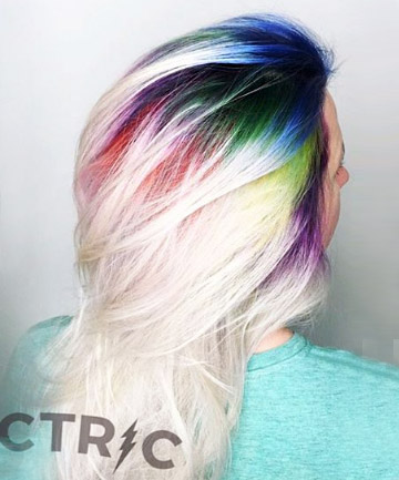 Rainbow Roots Is The New Colorful Hair Trend You Need