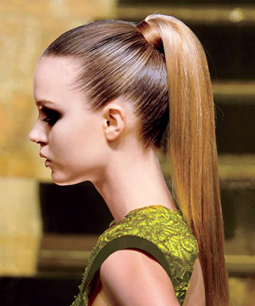 Polished Ponytail Beat The Heat Summer Hairstyles Page 12