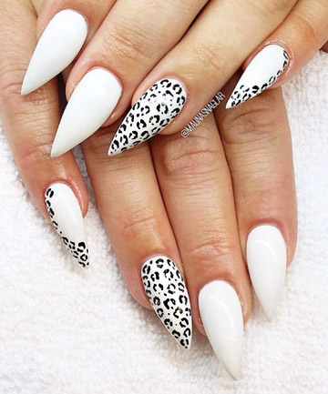 Wild One What Is A Leopard Without Her Claws Channel Fiercely Fabulous Feline With Print Stiletto Nails That Will Have You Feeling Like The Queen