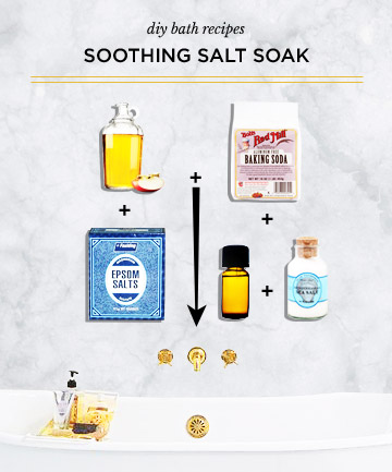 Epsom Salt Soak for Sore Muscles