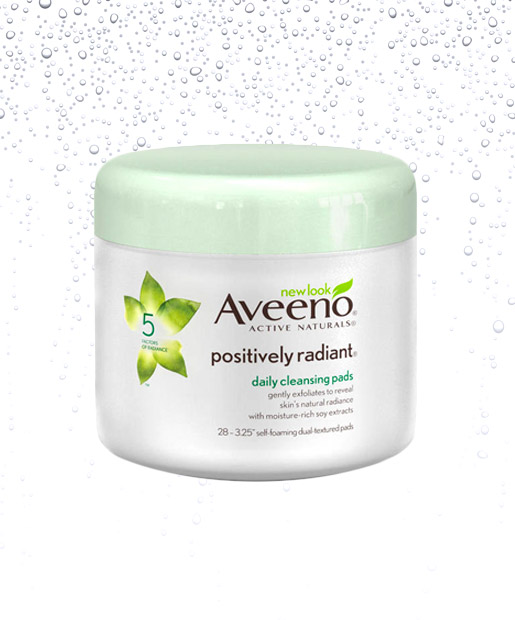 No. 6: Aveeno Positively Radiant Daily Cleansing Pads, $6.49