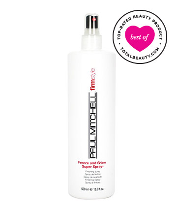 No. 8: Paul Mitchell Freeze and Shine Super Spray, $15
