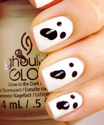 Frankenstein nails 19 amazing diy halloween nail art ideas page 4 prinsesfo Gallery