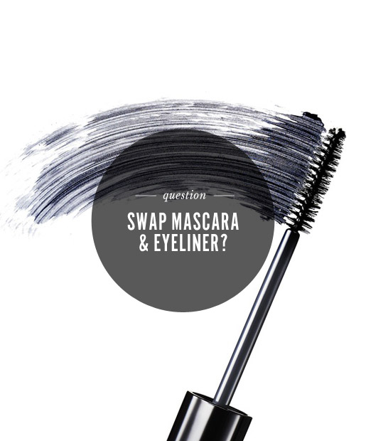 Would You Swap ... Mascara and Eyeliner?