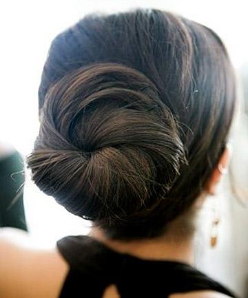 sleek ballerina bun  7 insanely chic hairstyles for