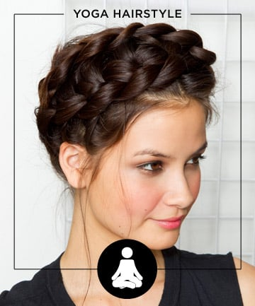 Yoga , 11 Fuss-Free Hairstyles for Every Workout - (Page 3)