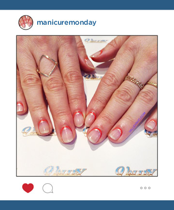 Mani of the Week: Valley Nail's Fine Lines