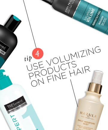 Tip 4: How to Curl Fine Hair