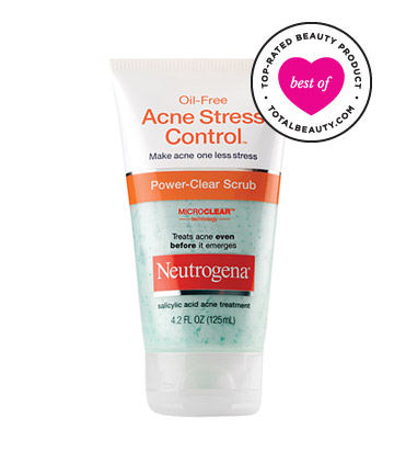 No. 8: Neutrogena Oil-Free Acne Stress Control Power-Clear Scrub, $7.99